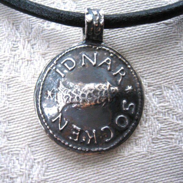 Indenor sockensigill - silversmycke i äkta silver - handgjorda silversmycken från Brokig silversmycken