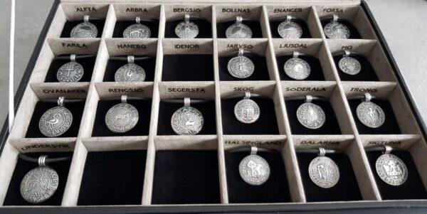 Sockensilgill i från Hälsingland - silversmycken i äkta silver - handgjorda silversmycken från Brokig silversmycken