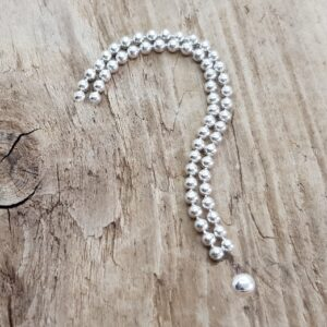 Specialbeställning silversmycke i egen design i äkta silver - handgjorda silversmycken från Brokig silversmycken